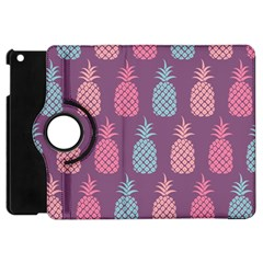 Pineapple Pattern  Apple Ipad Mini Flip 360 Case