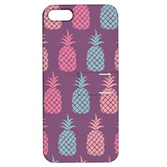 Pineapple Pattern  Apple iPhone 5 Hardshell Case with Stand