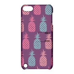 Pineapple Pattern  Apple Ipod Touch 5 Hardshell Case With Stand