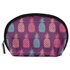 Pineapple Pattern  Accessory Pouches (large)