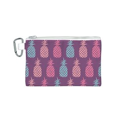 Pineapple Pattern  Canvas Cosmetic Bag (s)