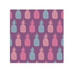 Pineapple Pattern  Small Satin Scarf (square)