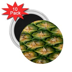 Pineapple Pattern 2.25  Magnets (10 pack)