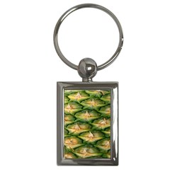 Pineapple Pattern Key Chains (rectangle)