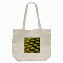 Pineapple Pattern Tote Bag (Cream)