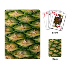Pineapple Pattern Playing Card