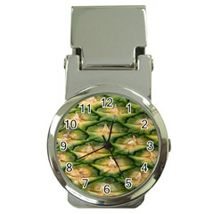 Pineapple Pattern Money Clip Watches