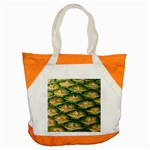 Pineapple Pattern Accent Tote Bag Front