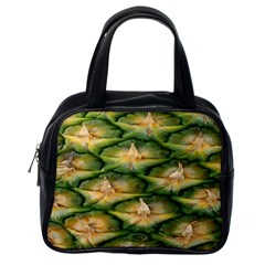 Pineapple Pattern Classic Handbags (One Side)