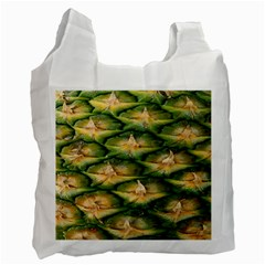 Pineapple Pattern Recycle Bag (one Side)