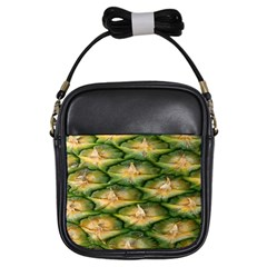 Pineapple Pattern Girls Sling Bags
