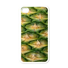 Pineapple Pattern Apple iPhone 4 Case (White)
