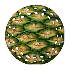 Pineapple Pattern Ornament (Round Filigree)