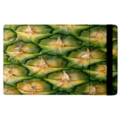 Pineapple Pattern Apple Ipad 2 Flip Case