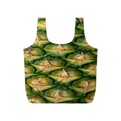 Pineapple Pattern Full Print Recycle Bags (S)