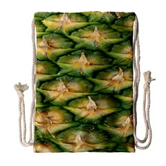 Pineapple Pattern Drawstring Bag (Large)