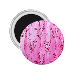 Pink Curtains Background 2.25  Magnets