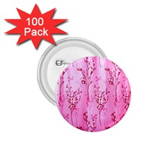 Pink Curtains Background 1 75  Buttons (100 Pack)
