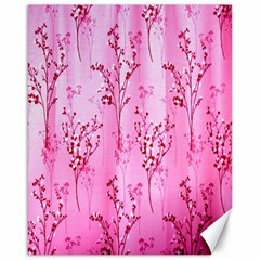 Pink Curtains Background Canvas 16  X 20