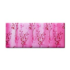 Pink Curtains Background Cosmetic Storage Cases