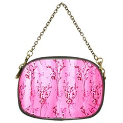 Pink Curtains Background Chain Purses (One Side)