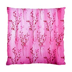Pink Curtains Background Standard Cushion Case (One Side)
