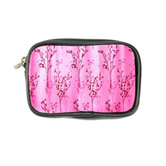 Pink Curtains Background Coin Purse
