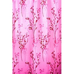 Pink Curtains Background 5.5  x 8.5  Notebooks