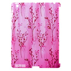 Pink Curtains Background Apple Ipad 3/4 Hardshell Case (compatible With Smart Cover)