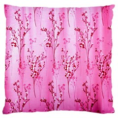 Pink Curtains Background Large Cushion Case (One Side)