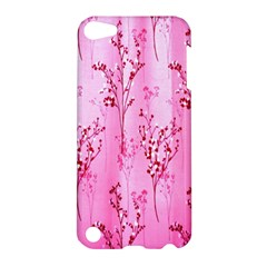 Pink Curtains Background Apple Ipod Touch 5 Hardshell Case