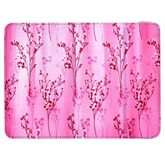 Pink Curtains Background Samsung Galaxy Tab 7  P1000 Flip Case