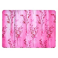 Pink Curtains Background Samsung Galaxy Tab 10.1  P7500 Flip Case