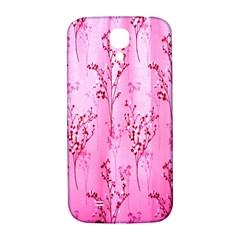 Pink Curtains Background Samsung Galaxy S4 I9500/i9505  Hardshell Back Case