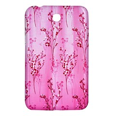 Pink Curtains Background Samsung Galaxy Tab 3 (7 ) P3200 Hardshell Case