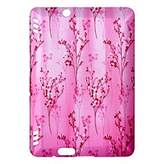 Pink Curtains Background Kindle Fire Hdx Hardshell Case