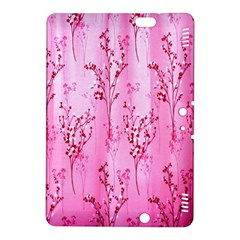 Pink Curtains Background Kindle Fire HDX 8.9  Hardshell Case