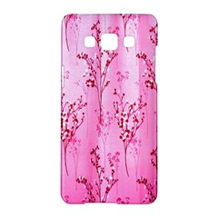 Pink Curtains Background Samsung Galaxy A5 Hardshell Case