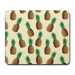 Pineapple Wallpaper Pattern Large Mousepads