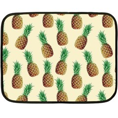 Pineapple Wallpaper Pattern Double Sided Fleece Blanket (mini)