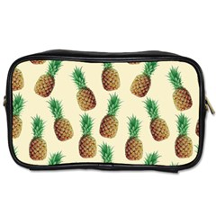 Pineapple Wallpaper Pattern Toiletries Bags 2-Side