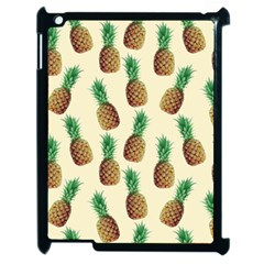 Pineapple Wallpaper Pattern Apple iPad 2 Case (Black)