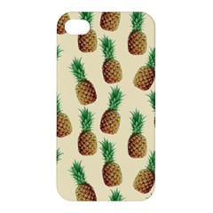 Pineapple Wallpaper Pattern Apple iPhone 4/4S Hardshell Case