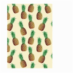 Pineapple Wallpaper Pattern Large Garden Flag (two Sides)