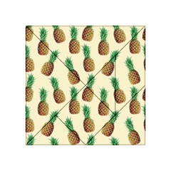 Pineapple Wallpaper Pattern Acrylic Tangram Puzzle (4  X 4 )