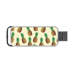 Pineapple Wallpaper Pattern Portable USB Flash (Two Sides)