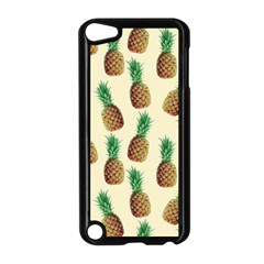 Pineapple Wallpaper Pattern Apple Ipod Touch 5 Case (black)