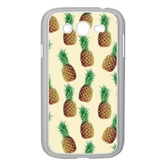 Pineapple Wallpaper Pattern Samsung Galaxy Grand Duos I9082 Case (white)