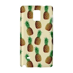 Pineapple Wallpaper Pattern Samsung Galaxy Note 4 Hardshell Case