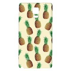 Pineapple Wallpaper Pattern Galaxy Note 4 Back Case